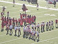 Stanford Band performing pregame at 2008 Big Game 05.JPG