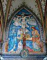 """Stanisław Samostrzelnik """"Crucifixion"""" (polychrome, 1538) Cistercian Abbey of Mogila, Kraków.JPG"""