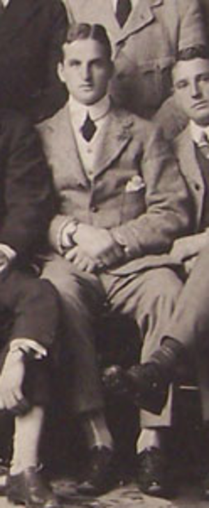 Stanley Williams (rugby union) - Stanley Williams with the British Isles rugby team in 1910