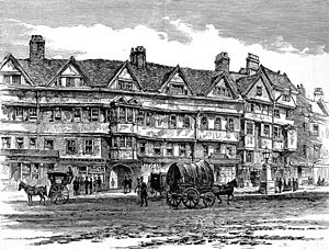 Inns of Chancery - Staple Inn in 1886