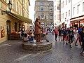 Staré Město, Na můstku, živá socha.jpg