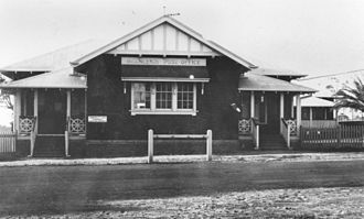 Beenleigh, Queensland - Beenleigh Post Office, circa 1929