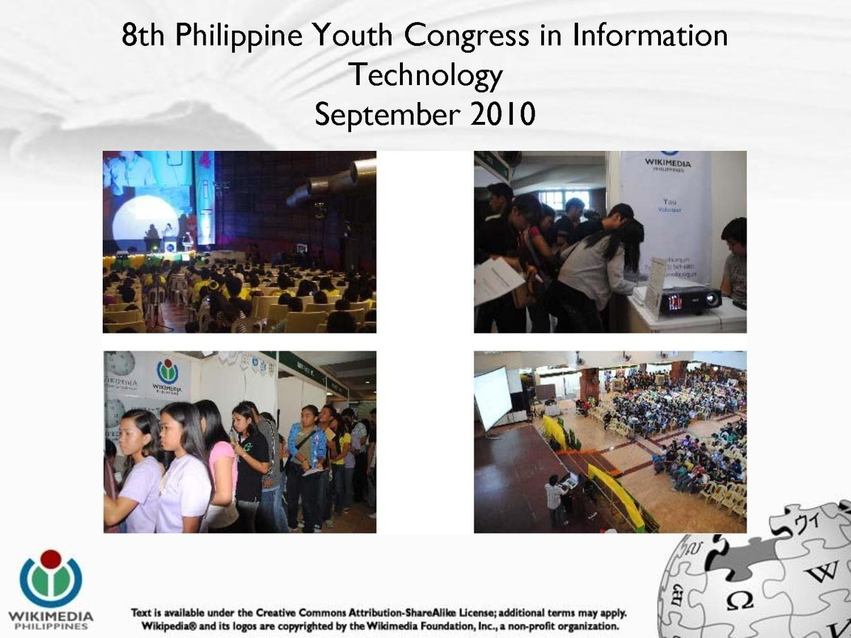 9th philippine youth congress in information Philippine elections are of several types (youth councilors) elections for the members of congress and local positions.
