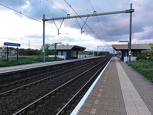 Helmond Brouwhuis railway station - Image: Station Helmond Brouwhuis