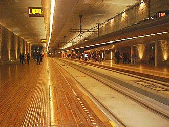 Spui RandstadRail station - Image: Station Spui