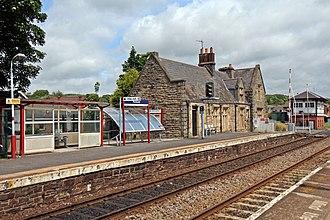 Parbold railway station - Image: Station building, Parbold railway station (geograph 4531187)