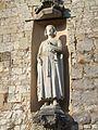 Statue Guillaume le Conquérant église Saint-Victor (Saint-Victor-l'Abbaye).JPG