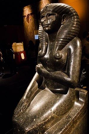 Nofret II - Statue of Nofret II.