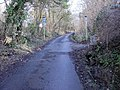 Steep middle section, Old Hill, Christchurch - geograph.org.uk - 1772468.jpg