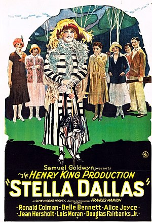 Stella Dallas (1925 film) - Film poster