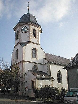 Sternenfels - Protestant parish church of Sternenfels.