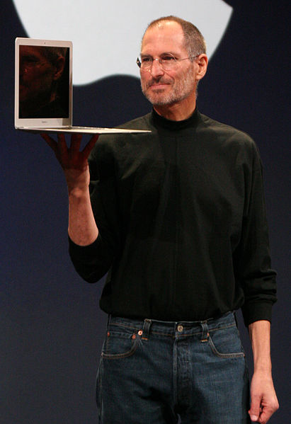 Innovator Steve Jobs (photo by Matthew Yohe & Aido2002)