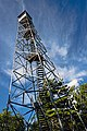 Stissing Mountain fire tower, Pine Plains, NY, tilted.jpg