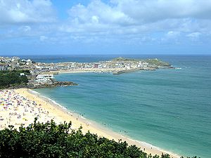St. Ives - Harbour and Portminster Beach - Cor...