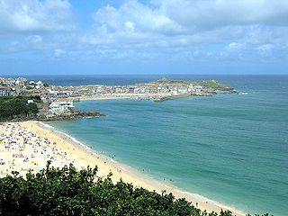 seaside town, civil parish and port in Cornwall, England