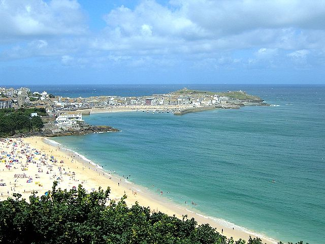 Beach Cafe In St Ives