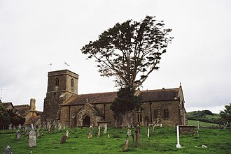John Michell (writer) - St Mary's Church, Stoke Abbott, where Michell's body was interned