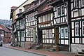 Stolberg (Harz), half-timbered houses on the Niedergasse.jpg