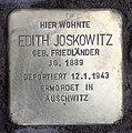 Stolperstein Bleibtreustr 17 (Charl) Edith Joskowitz.jpg