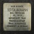 Stolperstein Bornwiesenweg 34 Berta Aumann.jpg
