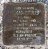 Stolperstein Josef-Orlopp-Str 50 (Liber) Oskar Debus.jpg