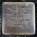 Stolperstein Karlsruhe Israel Stieber Adlerstr 15 (fcm).jpg