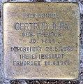 Stolperstein Konstanzer Str 6 (Wilmd) Gertrud Juda.jpg
