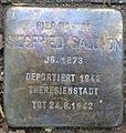 Stolperstein Sierichstraße 56 (Siegfried Salomon) in Hamburg-Winterhude.JPG