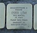Stolperstein für Ester Löwi, Karl-Liebknecht-Straße, Chemnitz.JPG