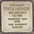 Stolperstein für Frieda Hochherr (Heidelberg).jpg