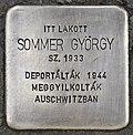 Stolperstein für György Sommer (Pecs).jpg
