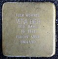 Stolpersteine Aachen, Vera Bier (Friedrichstraße 48).jpg