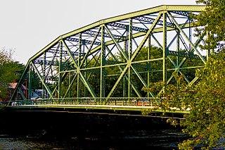 Straight Street Bridge bridge in United States of America