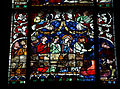 Strasbourg Cathedral - Stained glass windows -Jesus turns water to wine.jpg
