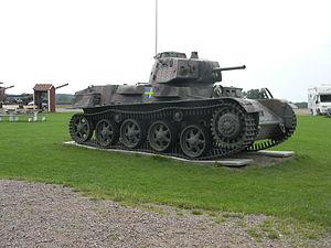 Stridsvagn L-60 - Stridsvagn m/40 at Beredskapsmuseet outside Helsingborg