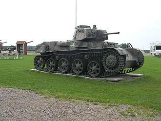 Landsverk L-60 - Stridsvagn m/40 at Beredskapsmuseet outside Helsingborg