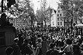 Studenten van Universiteit Amsterdam staken uit protest tegen invoering Wet Veri, Bestanddeelnr 923-5211.jpg