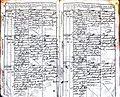Subačiaus RKB 1827-1830 krikšto metrikų knyga 034.jpg