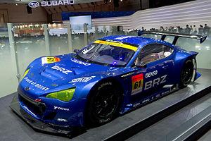 Subaru BRZ GT300 front 2011 Tokyo Motor Show.jpg