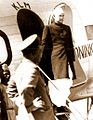 Subhas Chandra Bose arrives at Dum Dum aerodrome.jpg