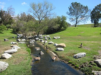 Sulphur Creek (California) - In Laguna Niguel Regional Park