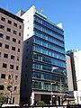 Sumitomo Dainippon Pharma Tokyo headquarters, at Kyobashi, Chuo, Tokyo (2019-01-02).jpg