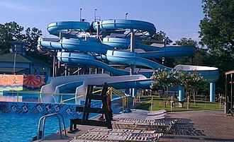 Belton, Texas - A water Park named Summer Fun in Belton, TX.