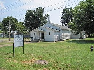 Sunset, Arkansas - Image: Sunset AR 10 True Vine MB Church