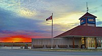 Sunset at Fallowfield Station.jpg