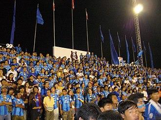 Chonburi F.C. - Chonburi FC Supporters