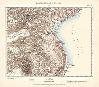 Degania Bet - Image: Survey of Western Palestine 1880.06