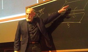 Leonard Susskind - Susskind giving 2014 Messenger Lecture at Cornell.