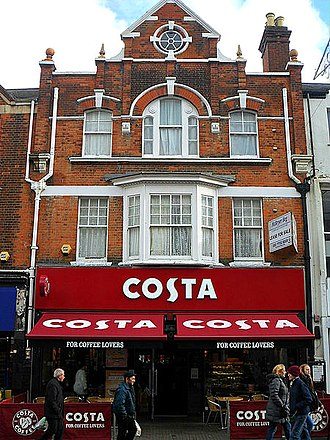 Whitbread - A branch of Costa in Sutton, Greater London
