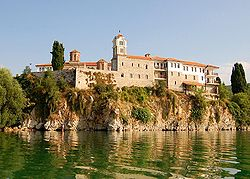 Monastery of Saint Naum above Lake Ohrid